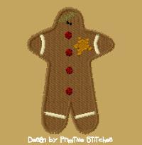 Gingerbread Man-4x4-FILL