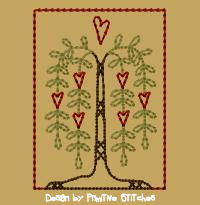 Willow Heart Block-4x4