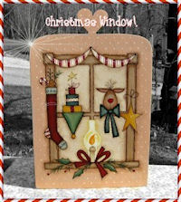 PAINTING-Christmas Window Collection 1