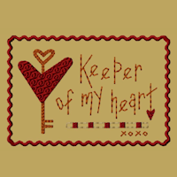 Keeper Of My Heart-4x4-Fill