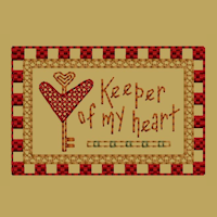 Keeper Of My Heart-Block-2-Colorwork-4X4