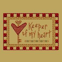 Keeper Of My Heart-Block-2-Colorwork-4X4