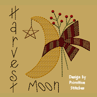 #PS-062 Harvest Moon-5x7-Motif