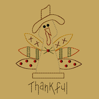 Thankful Turkey-5x7-Colorwork