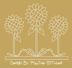 Sunflower-5 Inch (5x7) -5 Piece Set