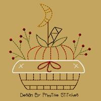 Pumpkin Basket-5x7-CW