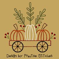 Little Red Pumpkin Cart-4x4-CW