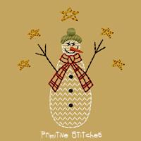 Snowman Family-Child-4x4