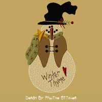 Winter Thyme Snowman-5X7-Fill