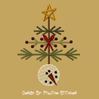 Snowball Tree-4X4-MOTIF