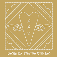 Doily Framed Heart-4 Inch-4 Piece Set