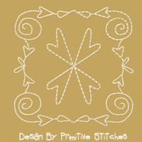 Hearts & Swirls-4 Inch-4 Piece Set