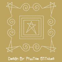Stars & Swirls-5x5, 6x6 & 7x7 Block SET
