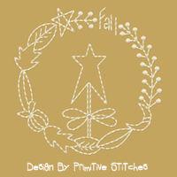 Fall Wreath-4x4-Inch-5-Piece Set