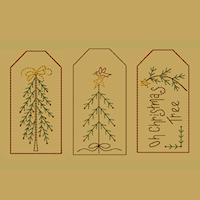 Christmas Stick Tree Tag Collection-Large