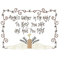 Angels Gather 5x7