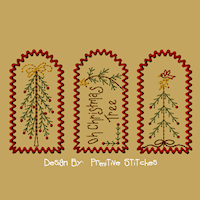 Christmas Stick Tree Tag Collection-Small