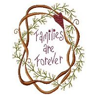 Families Are Forever 5x7