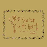 Keeper Of My Heart-5x7-Colorwork