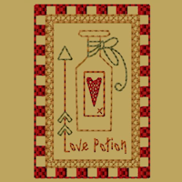 Keeper Of My Heart-Block-3-Colorwork-4X4