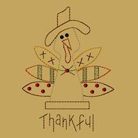 Thankful Turkey-5x7-Colorwork