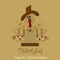 Thankful Turkey-5x7-MOTIF