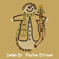 Twigs Snowman-4X4-Colorwork