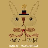 Prim Bunny-5x7-Colorwork
