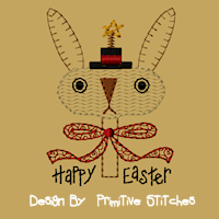 Prim Bunny-4X4-Colorwork