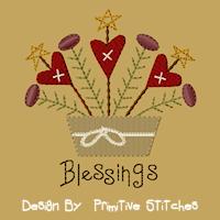 Heartfelt Blessings-Arrangement-5x7-FILL