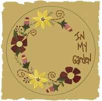 In My Garden Candle Mat-Fill
