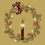 Tis The Season Wreath-5x7
