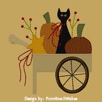 Pumpkin Cart-5x7-Fill